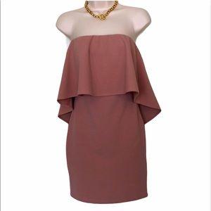 Dante hooligan light pink dress size small